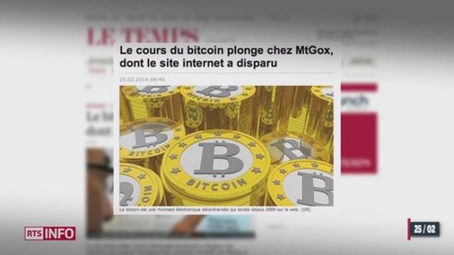 La nouvelle devise virtuelle, le bitcoin, suscite un intérêt grandissant [RTS]