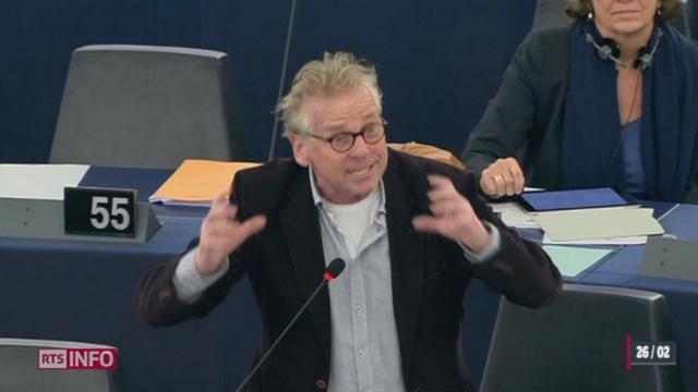 Vote du 9 février: le débat du Parlement européen sur les relations entre la Suisse et l'UE était musclé [RTS]
