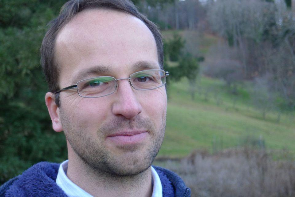 Pascal Sigg, le directeur de l'Arboretum. [Virginie Brawand - RTS]