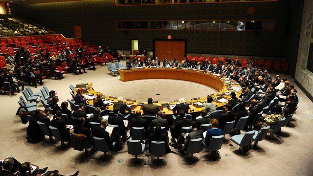Le Conseil de sécurité de l'ONU s'est réuni en urgence samedi au sujet de l'Ukraine. [Stan Honda - AFP]
