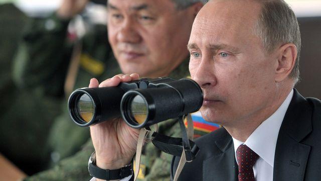 Vladimir Poutine. [Alexei Nikolsky - Ria-Novosti/AFP]