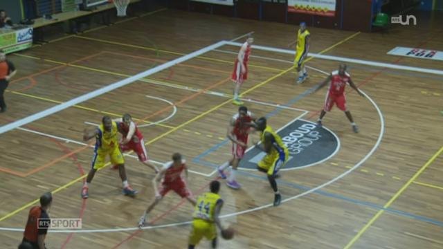 Basketball - Coupe de la Ligue: Union Neuchâtel  - Genève (71 - 59) [RTS]