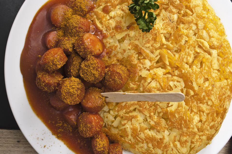 """Bon appétit! Il y a des röstis au menu, lundi dans """"Blick"""". [Gaëtan Bally - Keystone]"""