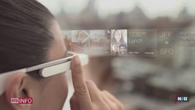 Les Google Glass arrivent en Suisse [RTS]