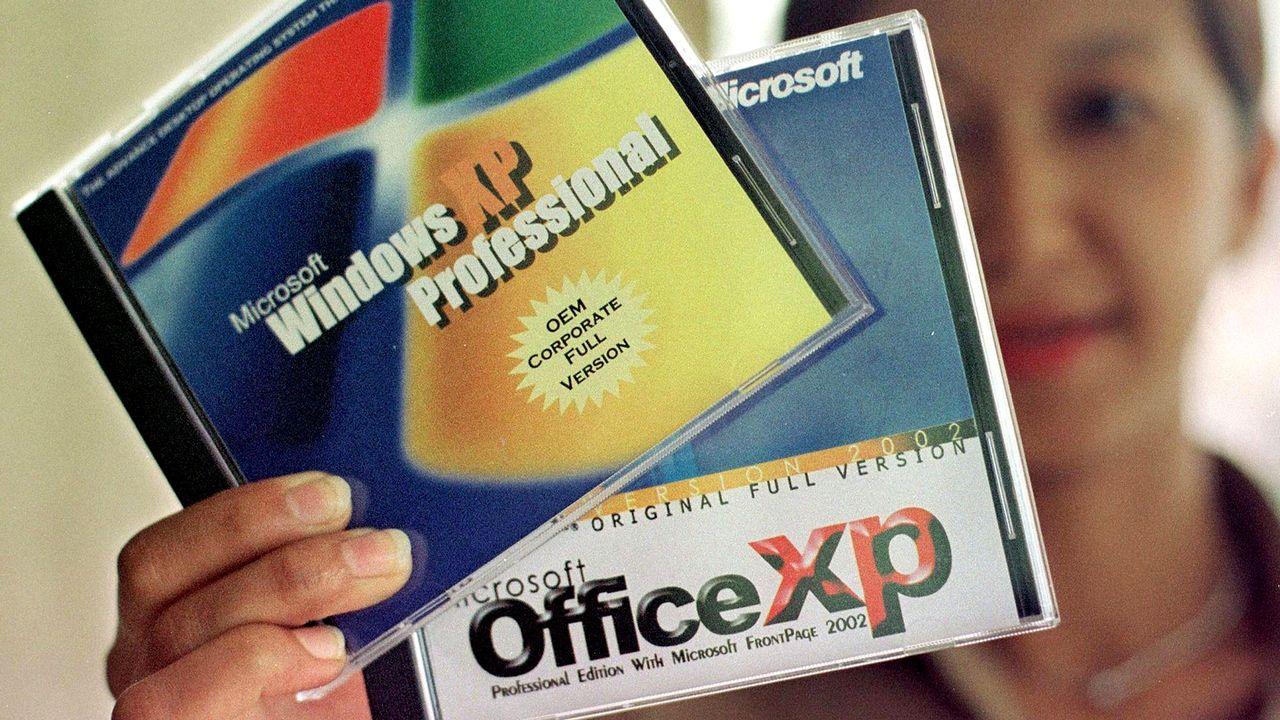 Windows XP avait été lancée en 2001. [Ahmad Yusni - AFP]