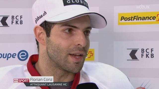Hockey- LNA (50e j.): Lausanne se qualifie pour les playoff [RTS]