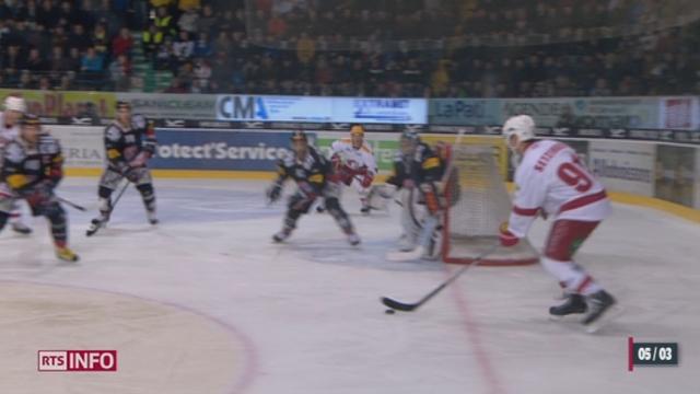 Hockey- LNA (50e j.): Lausanne s'est qualifiée pour les playoffs [RTS]