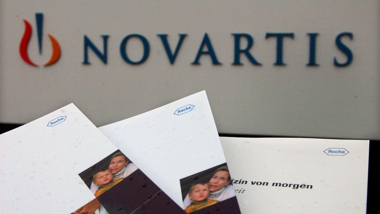 """Roche et Novartis auraient introduit une différence """"artificielle"""" entre deux médicaments pour le traitement de maladies de l'oeil. [Markus Stuecklin - Keystone]"""