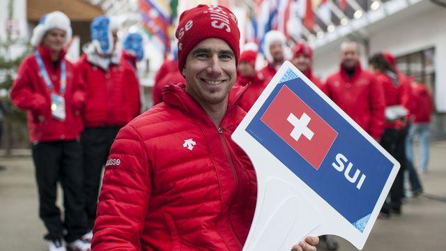 Champion paralympique de descente, Christoph Kunz défendra son titre dès samedi. [Ennio Leanza - Keystone]