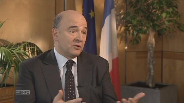 """Pierre Moscovici: """"C'est un vote qui a touché le président Hollande"""" [RTS]"""