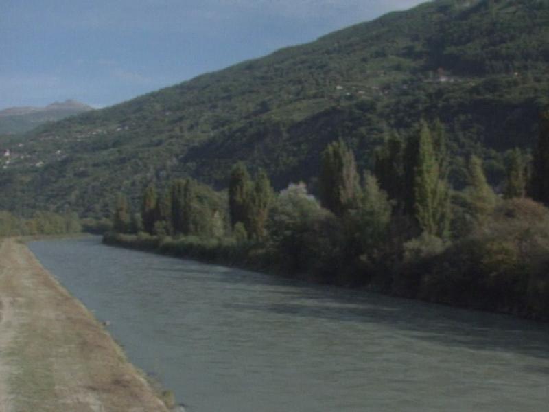Le Rhône à Fully