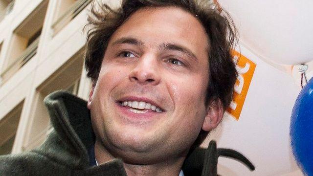 Guillaume Barazzone, nouveau conseiller administratif de la Ville de Genève. [Yannick Bailly - Keystone]