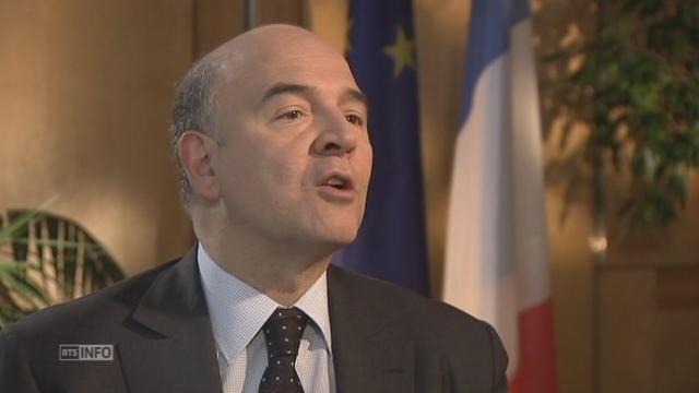 """Pierre Moscovic : """"C'est un vote qui ne peut pas rester sans conséquence"""" [RTS]"""