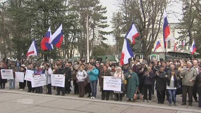 Important soutien au référendum en Crimée [RTS]