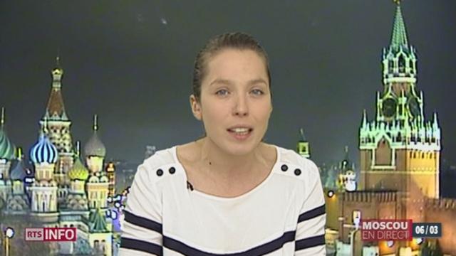 Crise en Ukraine: les précisions de Ksenia Bolchakova à Moscou [RTS]