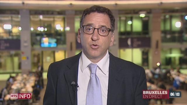 Sommet sur l'Ukraine: le point avec Alain Franco à Bruxelles [RTS]