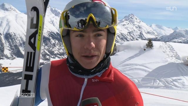 Jeux paralympiques: Robin Cuche fait partie des huit Suisses qui vont concourir [RTS]