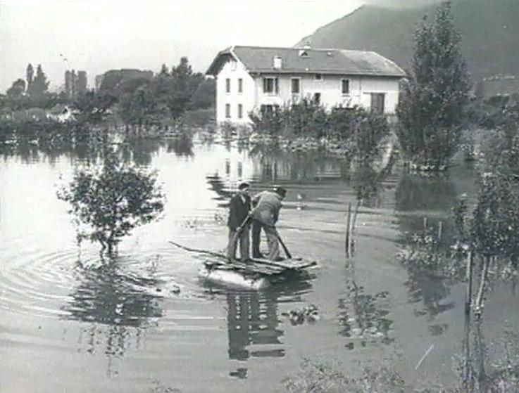 La plaine inondée