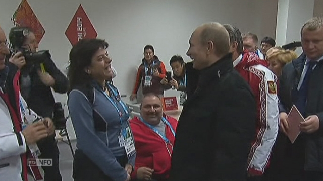Vladimir Poutine ouvre les Paralympiques de Sotchi [RTS]