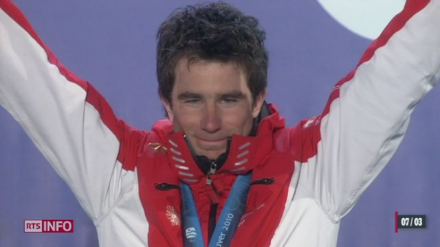 Jeux paralympiques de Sotchi: les Suisses Christoph Kunz et Michael Brügger visent la médaille d'or en descente [RTS]