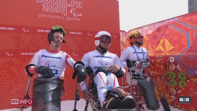 Jeux paralympiques de Sotchi - Ski alpin: la descente n'a pas souri aux skieurs suisses [RTS]