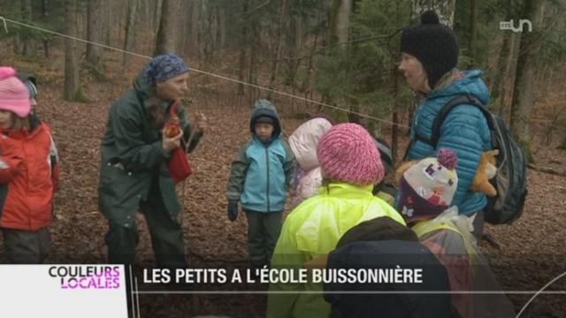 L'école en forêt est très appréciée des enfants [RTS]