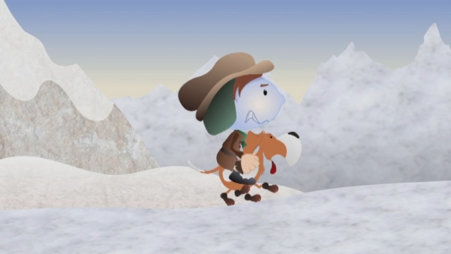 1807: Barry, le chien d'avalanche [RTS]