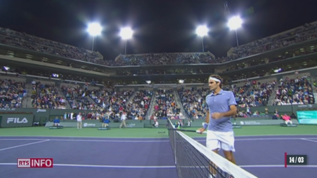 Tennis - Indian Wells: Federer se qualifie en demi-finale [RTS]