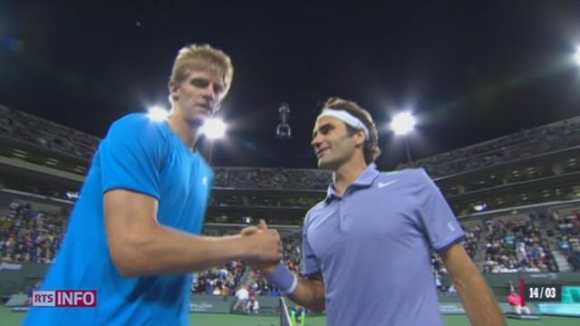 Tennis - Indian Wells: Federer s'est qualifié avec brio pour les demi-finales [RTS]