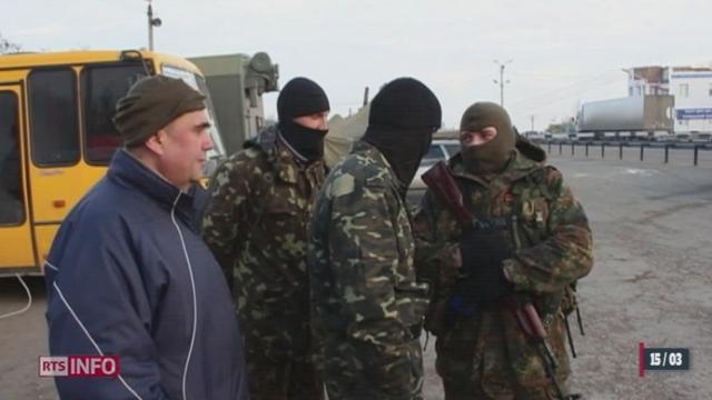 Ukraine: les manifestations dans l'est du pays sont violentes [RTS]