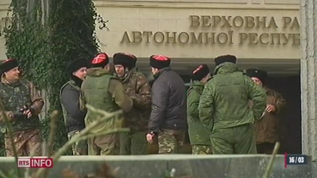 Crimée: les habitants se prononcent dimanche sur leur rattachement à la Russie [RTS]