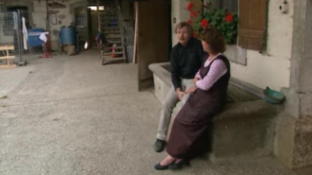 Parents de Stanislas Wawrinka à St-Barthélemy en 2003. [RTS]
