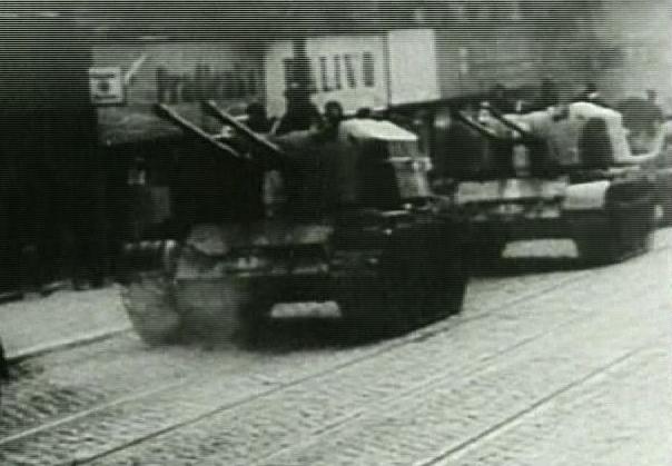 Prague occupée