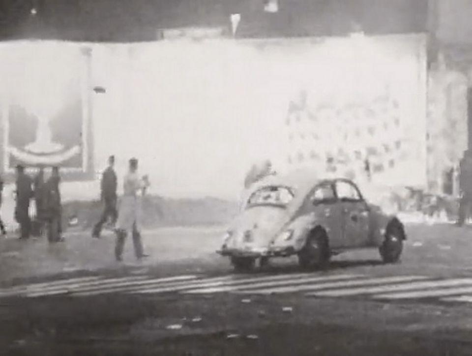 Paris lors des événements de Mai 68 - Continents sans visa, 6 juin 1968. [RTS]