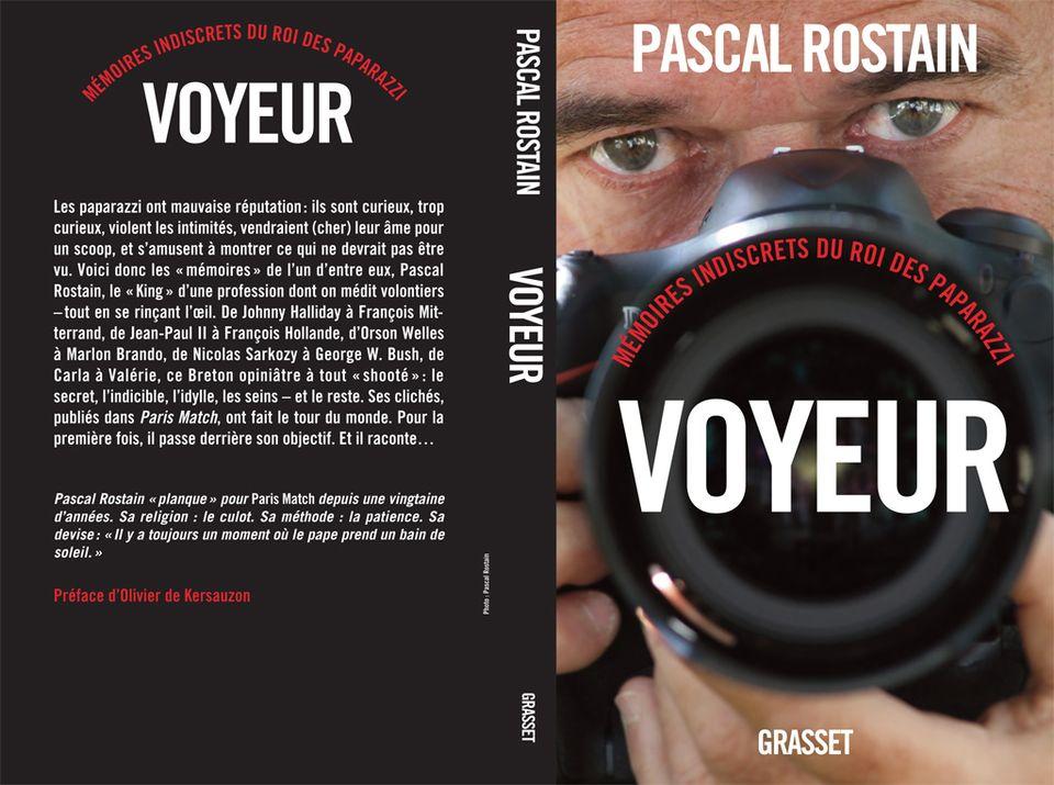 Voyeur, mémoires indiscrets du roi des paparazzi - Grasset, 2014. [Grasset]