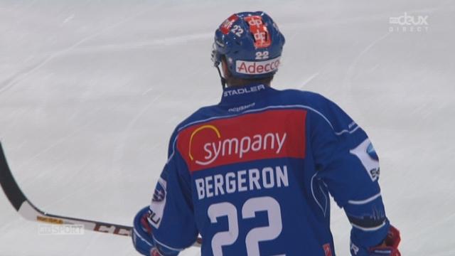 1-4, ZHC Lions - Lausanne HC (1-0): Bergeron tire de loin et ouvre le score dans cette partie [RTS]