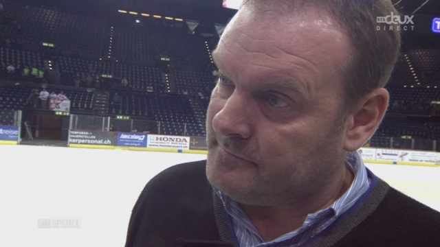 1-4, ZSC Lions - Lausanne HC (1-0): interview de l'entraîneur du LHC [RTS]