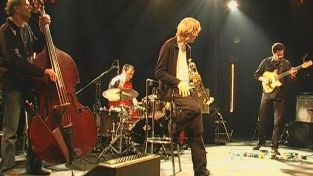 Sur la scène du Cully Jazz festival. [RTS]
