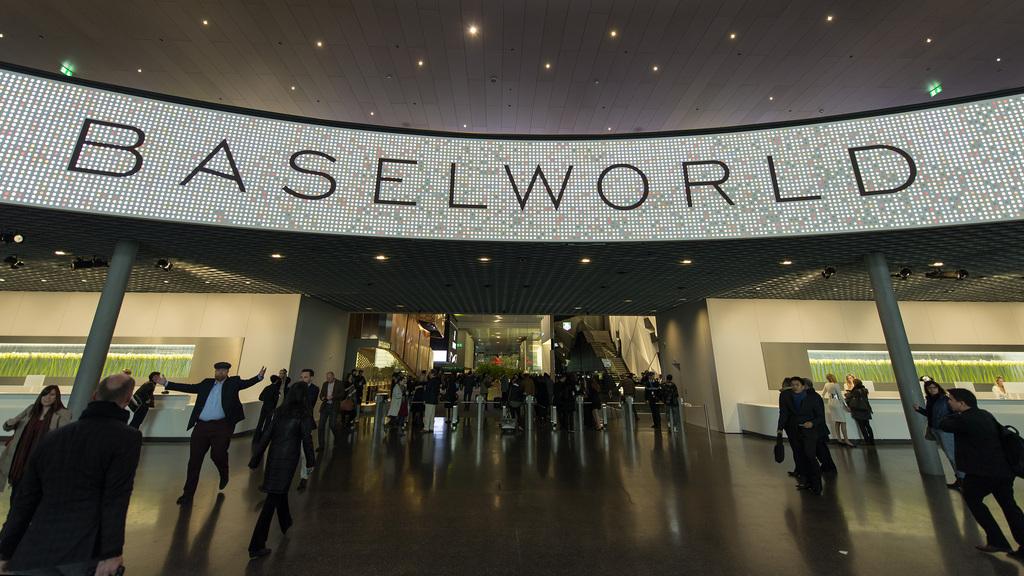 le salon international de l 39 horlogerie baselworld inaugur