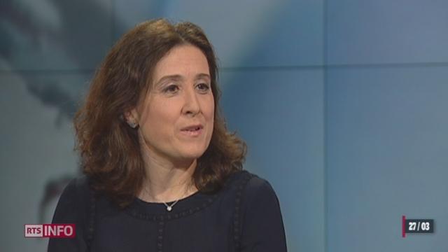 """Lutte contre la cybercriminalité: entretien avec Tiziana Bellucci, Directrice générale """"Action Innocence"""" [RTS]"""