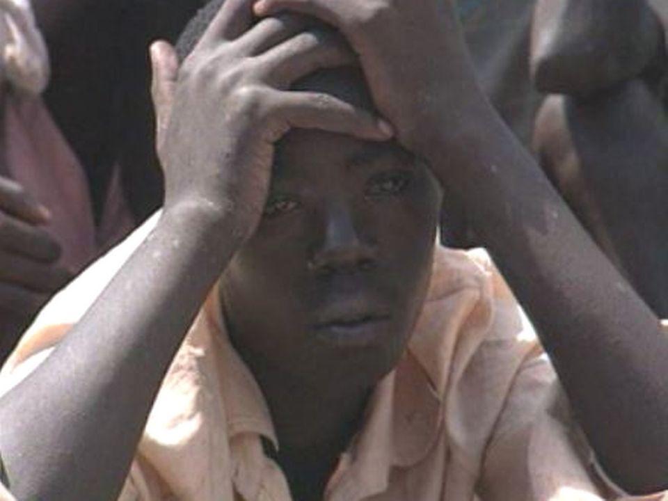 Réfugié rwandais après le génocide de 1994. [RTS]