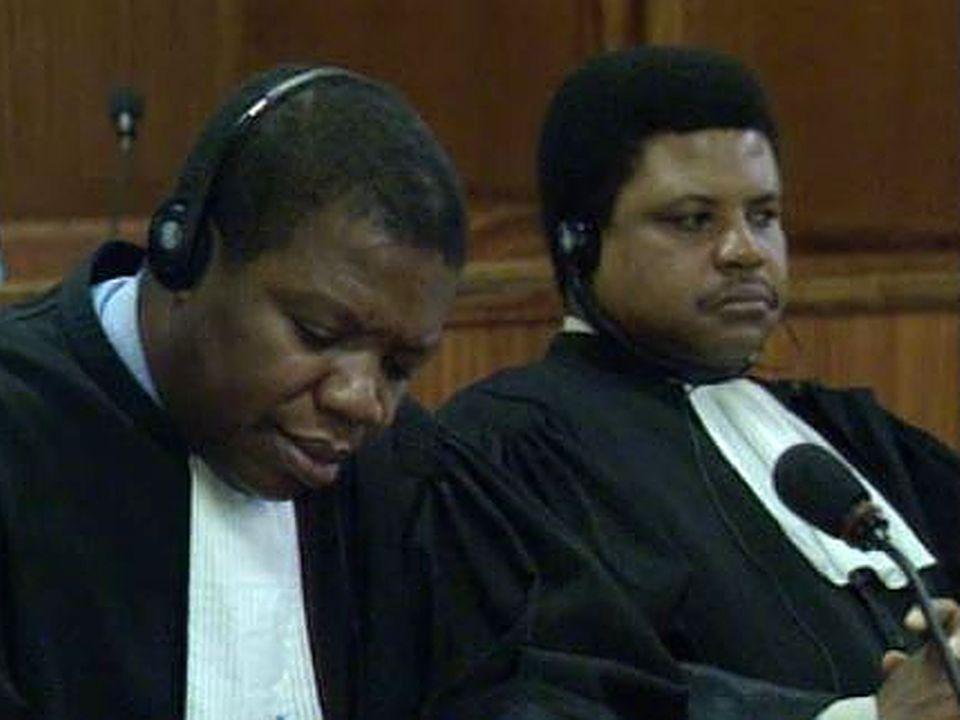 Tribunal pénal international pour le Rwanda (TPIR), 1997. [RTS]