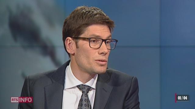 Fraude fiscale Caterpillar: l'analyse de Ron Hochuli, chef rubrique économique [RTS]