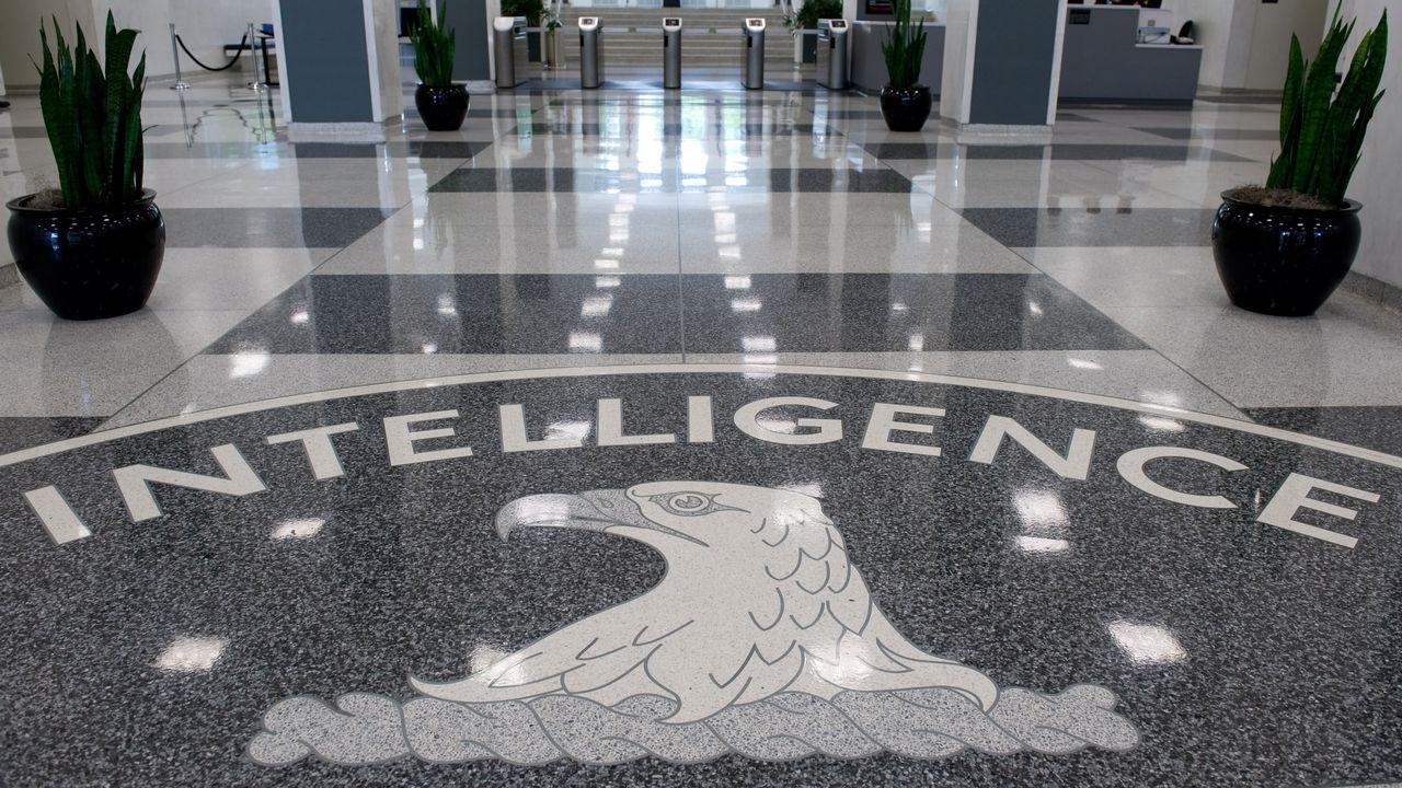 L'entrée du quartier général de la CIA à Langley, en Virginie. [Saul Loeb - AFP]