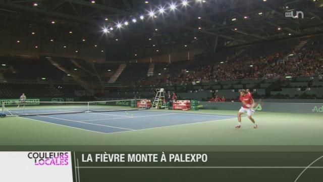 Tennis - Coupe Davis: Federer et Wawrinka défendront côte à côte les couleurs suisses [RTS]