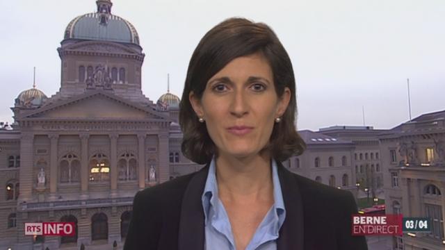 Votation sur l'immigration: les explications de Linda Bourget [RTS]