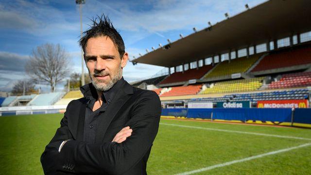 Marco Simone, entraîneur du Lausanne Sport. [Laurent Gillieron - Keystone]
