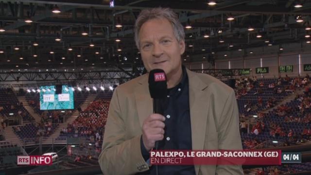 Tennis - Coupe Davis: les observations de Pierre-Alain Dupuis [RTS]