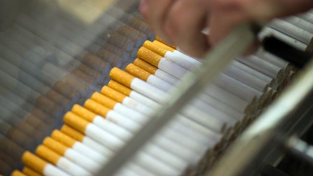 Quelque 1230 postes sont menacés dans l'usine néerlandaise de Philip Morris. [Arno Burgi - AFP]