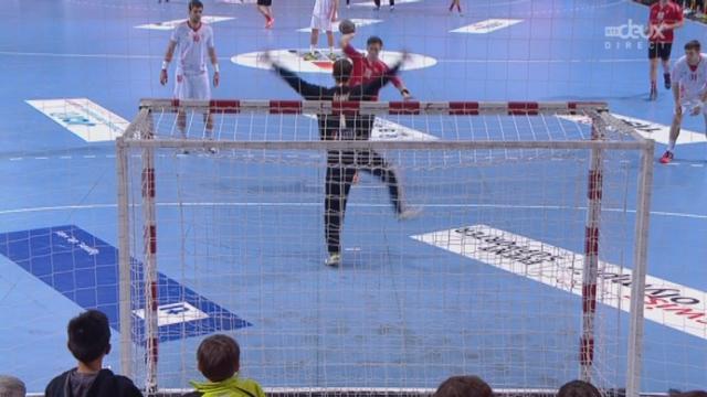 Petite finale, Suisse - Croatie (25-30): la Suisse termine 4e de cette Swiss Handball Cup [RTS]